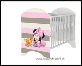 Detská posteľka Minnie Baby - Disney