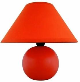 Stolná lampa Ariel, oranžová, Rabalux