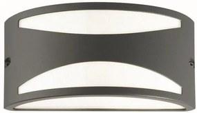 Ideal Lux - Vonkajšie nástenné svietidlo 1xE27/60W/230V šedá