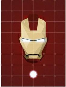IXXI Skladaný obraz IXXI – Icon Iron Man – S
