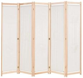 5-panelový paraván 200x170 cm