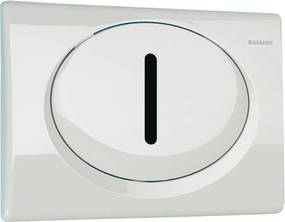 Automatický splachovač WC s elektronikou ALS pre montážny rám Geberit - tlačítko RUMBA, 24V DC