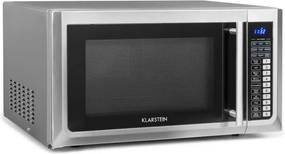 Klarstein Brilliance Pro, mikrovlnná rúra, 43 litrov, gril, teplovzdušná recirkulácia, dotykový panel, nehrdzavejúca oceľ