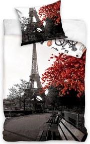 Posteľná bielizeň bavlna Jeseň v Paríži