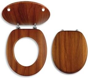 Novaservis WC/DUB2 sedátko na WC dýhované drevo