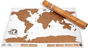 LUCKIES Stieracia mapa sveta XL