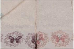 Sada 6 uterákov Butterflies