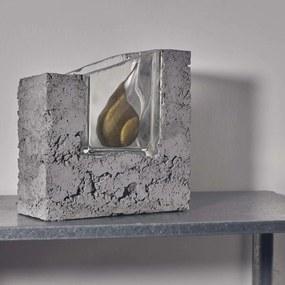 PRASKLO Umelecká váza Slopy Top