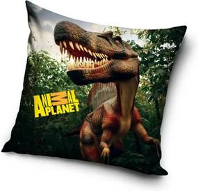 CARBOTEX Obliečka na Vankúšik Animal Planet Dinosaurus micro Polyester 40/40 cm