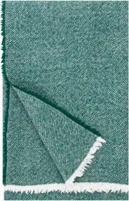 Vlnená deka Sara 140x180, smrkovo zelená Lapuan Kankurit