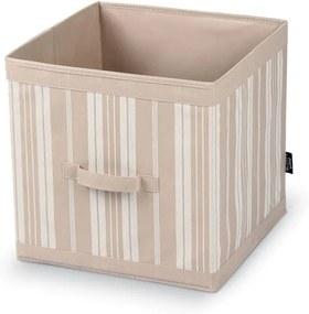 Úložný box Domopak Stripes, dĺžka 32 cm