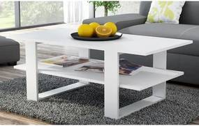 Konferenčný stolík SALON biela