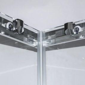 Štvorcový sprchovací kút OBS2 90 cm 90 cm