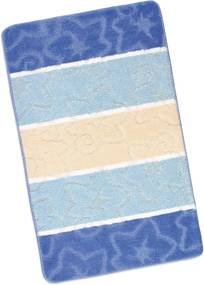 Bellatex Kúpeľňová predložka Avangard Modrý orion, 60 x 100 cm