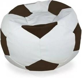 Sedací vak Futbal tmavý braž - XL