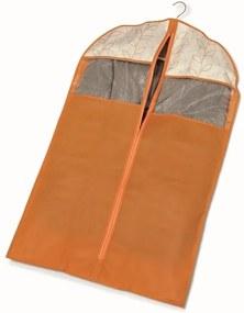 Oranžový obal na šaty Cosatto Bloom, dĺžka 100 cm