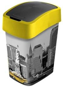 Curver Flipbin odpadkový koš NEW YORK 25 l