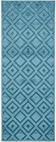 Mint Rugs - Hanse Home koberce Kusový koberec Mint Rugs 103501 Iris blue - 80x250 cm