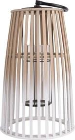PRESENT TIME Sada 2 ks: Bambusová Lucerna - Lampáš Atmosphere veľká