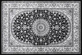 Festival koberce Kusový koberec Silkway X084B Black - 120x180 cm