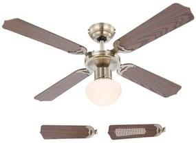 Globo Globo 03804 - Stropný ventilátor CHAMPION 1xE27/60W/230V GL5366
