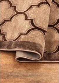 Kusový koberec Anabel hnedý, Velikosti 120x170cm
