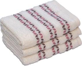 Bambusový uterák ROMA krémový