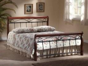 Najlacnejsinabytok VENECJA posteľ 120x200, antická čerešňa