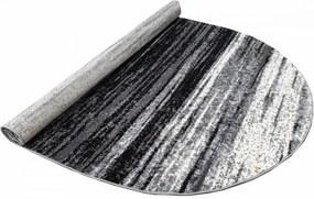 Kusový koberec Aido šedý ovál, Velikosti 60x100cm