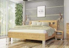 Wood Service Posteľ Janka bez úložného priestoru 140 x 200