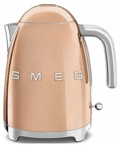 SMEG 50's Retro Style rychlovarná kanvica 1,7l ružová zlatá KLF03RGEU, ružová zlatá