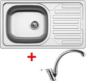 Set Sinks CLASSIC 760 V matný + batéria EVERA