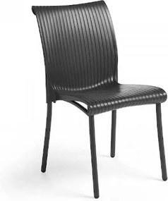 Regina stolička antracitová