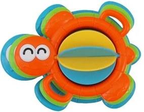 BABY MIX Nezaradené Edukačná hračka do kúpeľa Baby Mix želvička Oranžová |