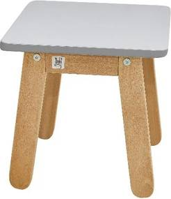 Sivá detská stolička BELLAMY Woody