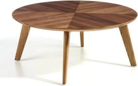 Konferenčný stolík s doskou z orechovej dyhy Ángel Cerdá Vision