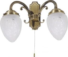 Rábalux Annabella 8632 Nástenné Lampy bronz E14 2x MAX 40W 270 mm