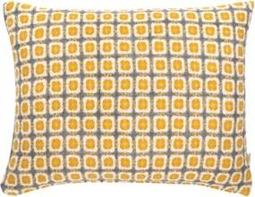 Vlnená obliečka na vankúš Corona 50x40, oranžová Lapuan Kankurit