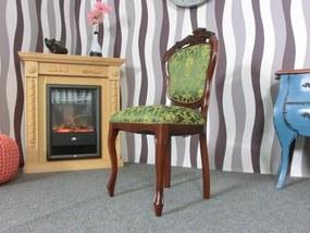 (250) SEDIA CASTELLO zámocká stolička zelená