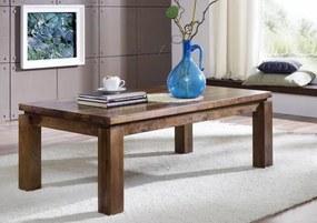 Bighome - DAKOTA Konferenčný stolík 120x70 cm, palisander