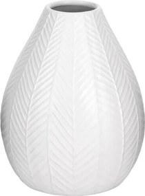 Koopman Keramická váza Montroi biela, 15,5 cm