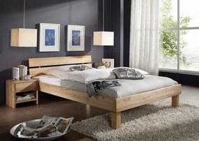 Bighome - TOM posteľ 200x200 masívny olejovaný buk
