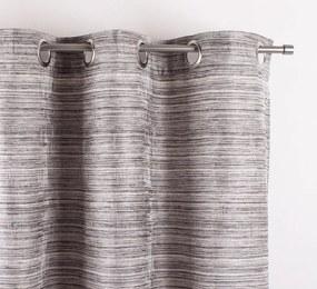 Matejovský Dekoračný záves Natália šedá 140x260 cm