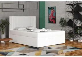 Americká posteľ 120x200 CARA - biela
