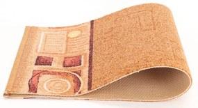 Associated Weavers koberce Protiskluzový běhoun Jena 35 - šíře 80 cm s obšitím