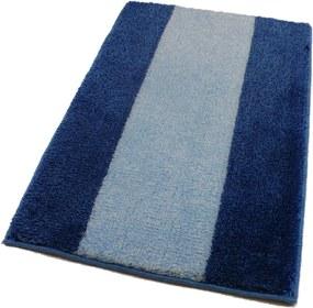 ROUTNER Kúpeľňová predložka ATHENA Modrá 10304 - Modrá / 80 x 150 cm 10304