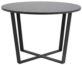 AMBLE jedálenský stôl Čierna