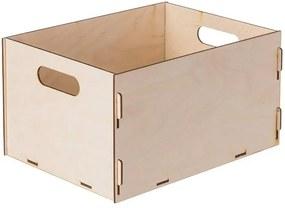 Drevobox Drevený box z preglejky 31X23X16.5 CM