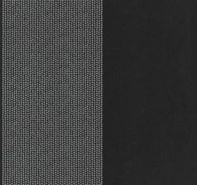 Vliesové tapety, kolieska strieborné, Catherine Lansfield Glamour 1337224, P+S International, rozmer 10,05 m x 0,53 m