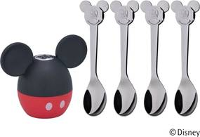 Sada soľničky a lyžičiek WMF Mickey Mouse